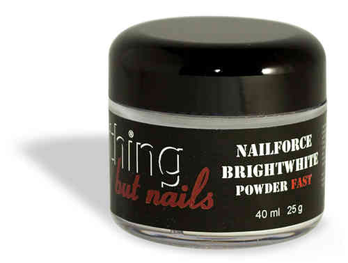 NAILFORCE acryl powder fast bright white 25g