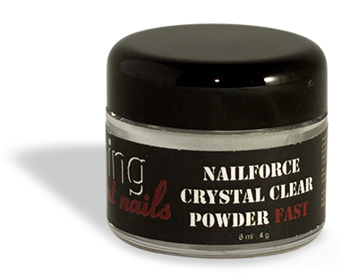 NAILFORCE acryl powder fast crystal clear 4g