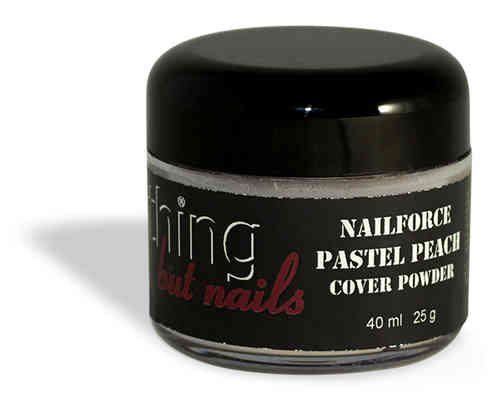 NAILFORCE acryl powder cover pastel peach 25g