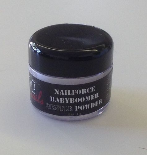NAILFORCE acryl powder gentle babyboomer white 4g