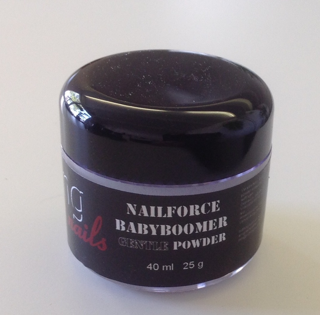 NAILFORCE acryl powder gentle babyboomer white 25g